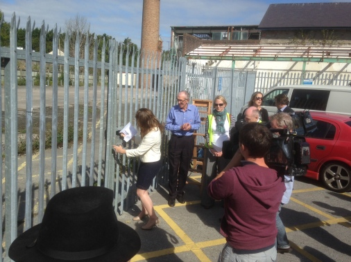 The Dairy Crest site being opened for the first time in 7 years to invite the community in